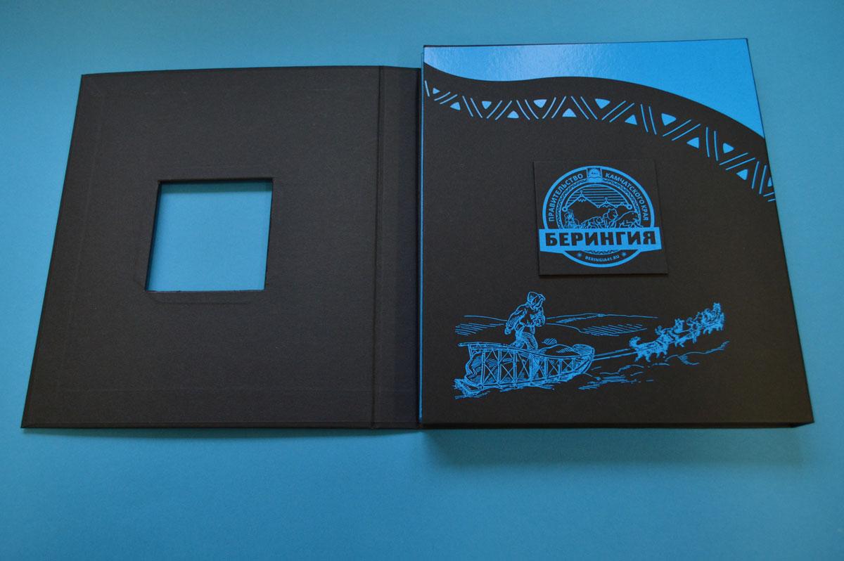 Книга в твердом переплете №7БЦ в коробке на магнитах