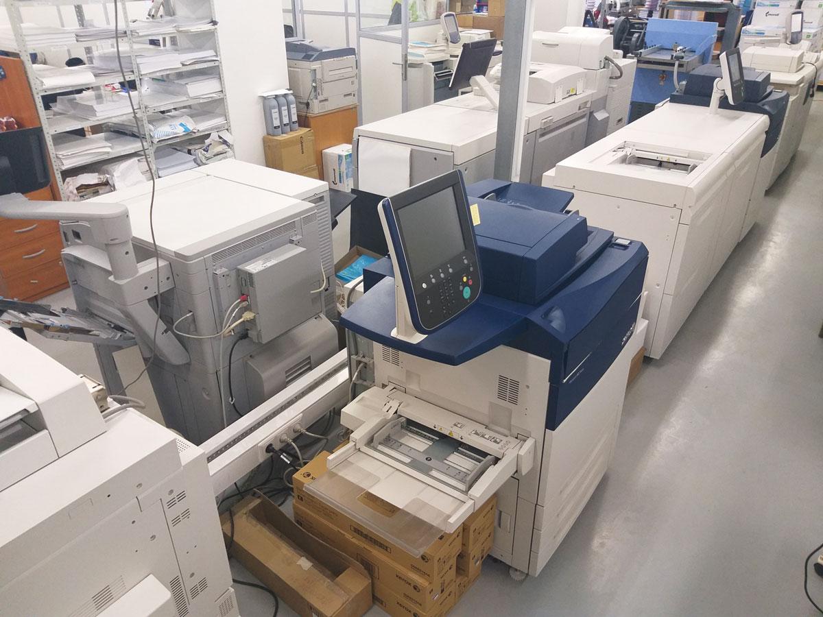 Цифровая печать Распечатать много А4